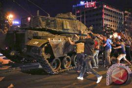 Turki buru 121 tersangka yang terkait upaya kudeta gagal 2016