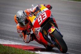 Pebalap Yamaha Valentino Rossi Start Terdepan Moto GP Jepang