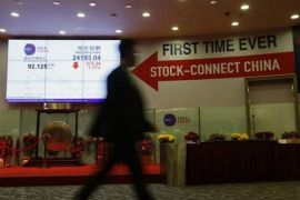 Indeks Hang Seng bursa Hong Kong naik 4 poin