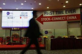 Indeks Hang Seng terperosok lebih 400 poin