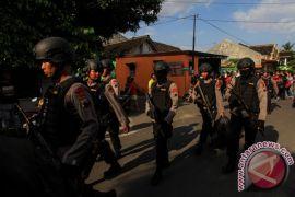 Densus 88 temukan barang bukti terduga teroris di Sukoharjo