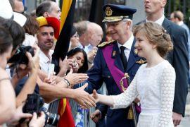 Raja dan Ratu Belgia tertarik artefak Indonesia