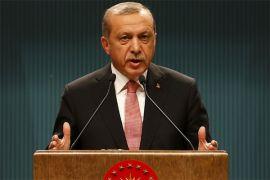 Erdogan tegaskan Turki tak nyaman dengan dukungan AS buat YPG