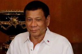 Duterte lanjutkan perang narkoba