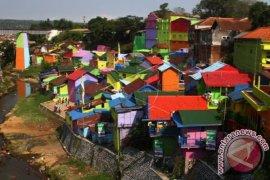 Kampung Warna-Warni Jadi Destinasi Wisata Malang