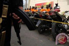 Polres Lhokseumawe tangkap belasan pelaku pencurian motor