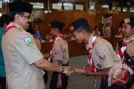 Kontingen Kwartir Gianyar Ikut Jambore Nasional