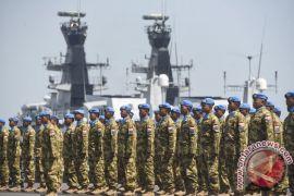 Pasukan Unifil Indonesia silaturahmi bersama rayakan Idul-Fitri