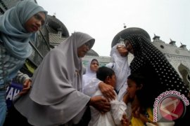Pemberangkatan Haji Kloter Tiga Embarkasi Aceh