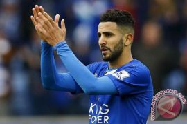 Mahrez bergabung ke Manchester City dari Leicester