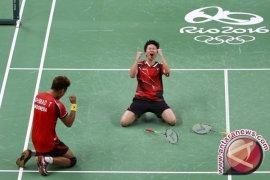 Olimpiade 2016 - Emas Tontowi/Lliliyana angkat peringkat medali Indonesia