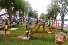 Taman Siring Kandilo Kondisinya Memprihatinkan