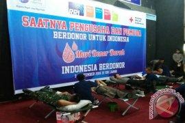 Ratusan warga Jambi ikuti Indonesia berdonor
