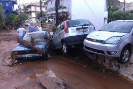 Tiga hilang akibat badai di Yunani