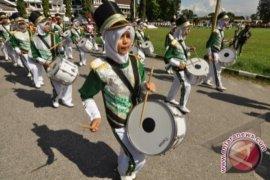 Drumband Masuk Babak Penentuan Juara Umum