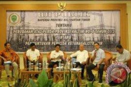 Pansus Gelar Uji Publik Raperda Ketenagalistrikan