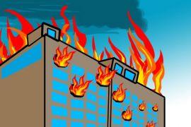 Toko busana dan bengkel di Kupang terbakar