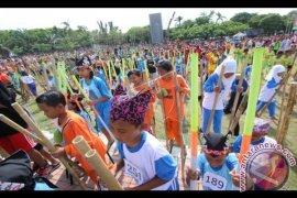 Disbud Bali: Pengungsi Akan Dihibur Permainan Tradisional