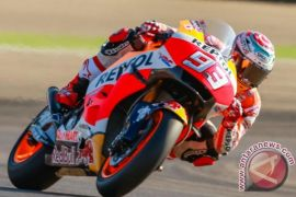 Marquez juara MotoGP Prancis, Dovisiozo dan Zarco kecelakaan