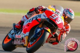 Marc Marquez tercepat di sesi latihan FP1 MotoGP Valencia