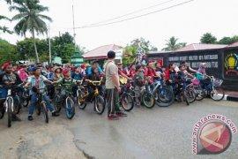 SEPEDA SANTAI HUT TNI KE-71