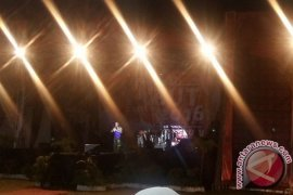 Pentas seni budaya awali Festival Tabot Bengkulu