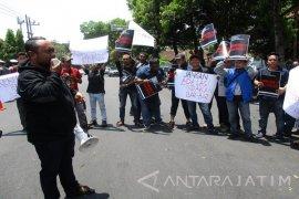 Jurnalis Kediri Desak Pelaku Penganiayaan Wartawan Madiun Dihukum
