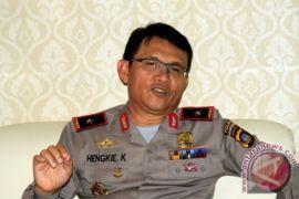 Kepala Polda Gorontalo jenguk korban tertabrak mobil anggota polisi