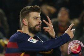 Pique gembira sambut Piala Super Spanyol