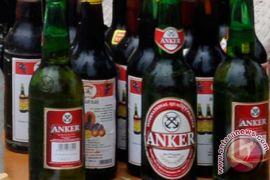 Polisi amankan 723 botol bir