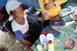 Korban banjir Aceh Barat mulai terserang gatal-gatal