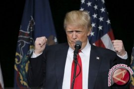 Heboh seloroh Capres Donald Trump di debat terakhir