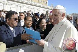 Bertemu Paus Fransiskus