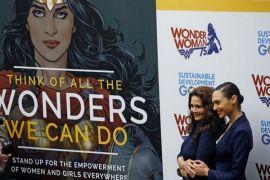 PBB berhenti tampilkan Wonder Woman sebagai duta