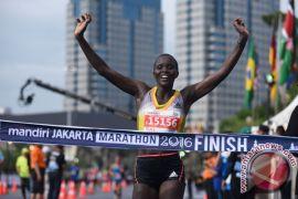 Pelari Kenya dominasi nomor terbuka Jakarta Marathon