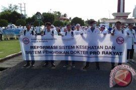 Demonstrasi dokter tidak mengganggu pelayanan RS Bengkulu