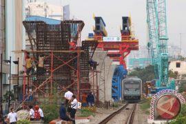 Jalur layang KA Medan selesai akhir 2018