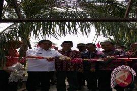 Bupati Resmikan Jembatan Gantung Pulau Tanjung