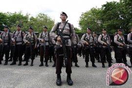 Polri-TNI Gelar Apel Tiga Pilar Jelang Demo Susulan
