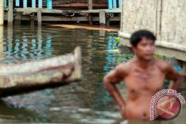 Pemukiman nelayan di Gorontalo terendam banjir