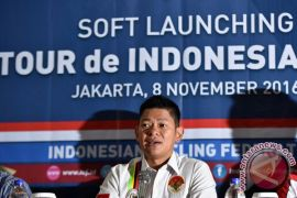 Tour d`Indonesia 2018 ajang sosialisasi Asian Games-Paragames