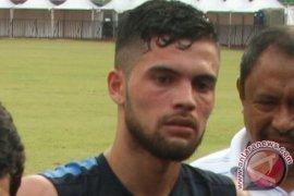 SEPAK BOLA- Diego Michiels Siap Berlaga Lawan Bali United