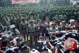 Presiden perintahkan prajurit Kostrad jaga kesatuan bangsa