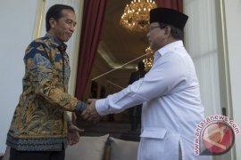 Presiden Terima Prabowo di Istana Merdeka