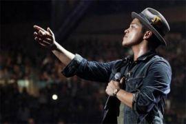 Bruno Mars bawa pulang penghargaan Rekaman Terbaik Grammy 2018