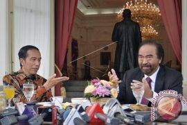 Presiden Terima Surya Paloh di Istana Merdeka
