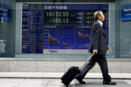 Saham Tokyo menguat, Hong Kong dan China turun