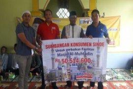 Sinde Dan Alfamart Bantu Perbaiki 33 Masjid Di Indonesia