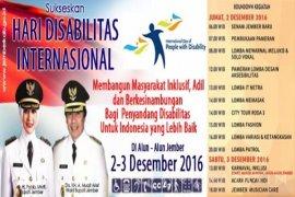 Peringatan Hari Disabilitas Internasional Wujudkan Jember Kota Inklusi
