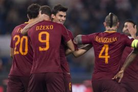 Roma menang 4-2 di markas Fiorentina